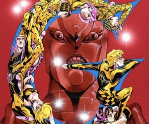 crimson, jojo, and king crimson image