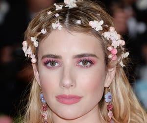 belleza, emma roberts, and maquillaje image