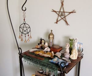 altar, craft, and witch image