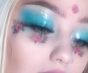 blue, alternative, and makeup image