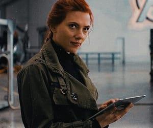 black widow, Marvel, and endgame image