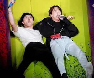 bts, rm, and jhope image