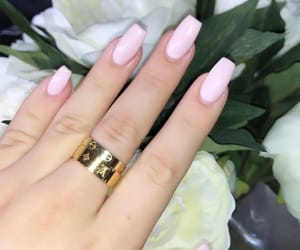 acrylics, beauty, and manicure image