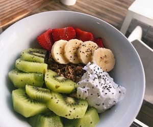 beautiful, summer morning, and vegan food image