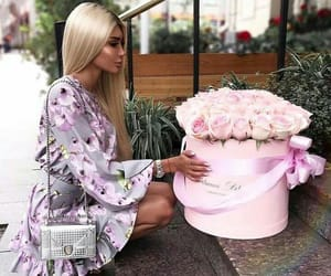 chic, flowers, and girls image
