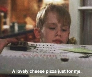 90s, pizza, and quotes image