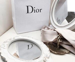 dior, fashion, and mirror image