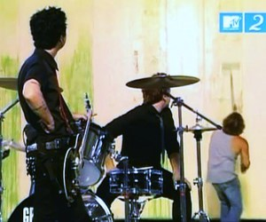 making of, tre cool, and billie joe armstrong image