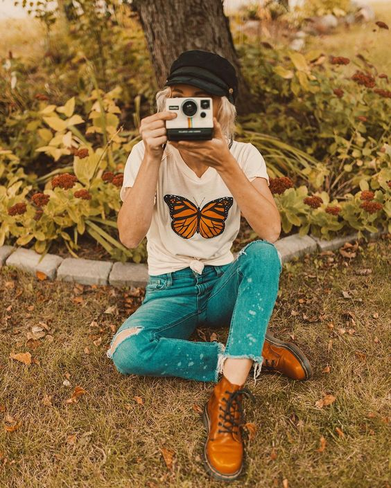 fashion, flowers, and nature image