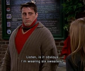 friends, Joey, and sweater image