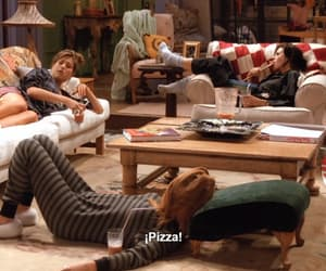 monica, serie, and pizza image