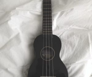 music, black, and guitar image