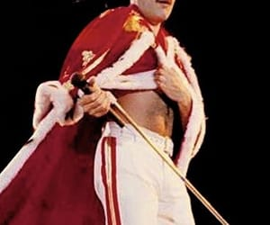 Freddie Mercury, rock, and the queen image