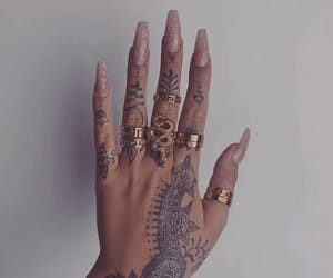 accessories, inspiration, and nails image