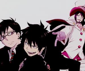ao no exorcist, rin okumura, and yukio okumura image