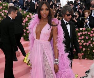 Naomi Campbell and fashion image