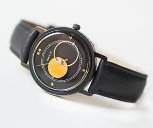 etsy, vintage unisex watch, and kopernik watch black image
