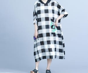 etsy, maternity clothing, and cotton dress image