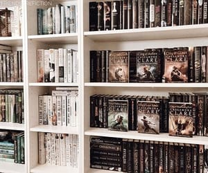 books, fantasy, and girls image
