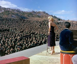 marilyn, sing, and Vietnam image
