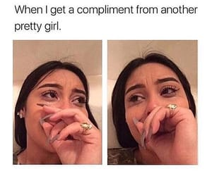 compliment, crying, and happiness image