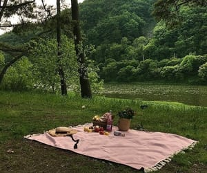 nature, picnic, and aesthetic image