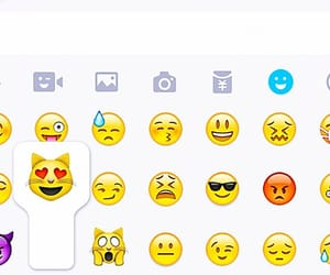 wallpaper and emojis image