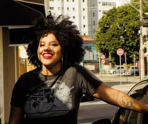 black women, urban photography, and curls image