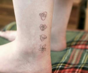 tattoo, bts, and love yourself tear image