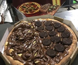 chocolate, nutella, and foodporn image