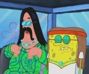 hippie, patrick, and spongebob image