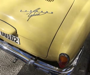 car, yellow, and theme image