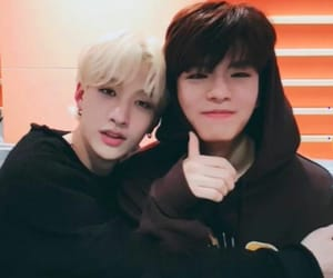 Chan, seungmin, and stray kids image