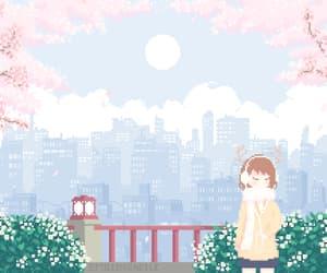 8bit, girl, and anime girl image