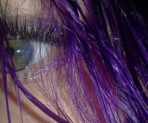 aesthetic, eye, and girl image
