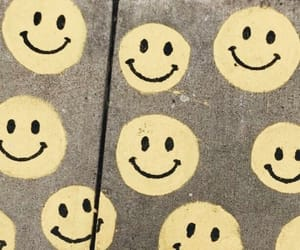 face, smiley, and yellow image