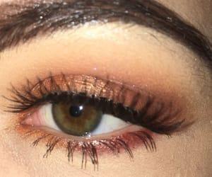eye shadow, eyes, and glitter image