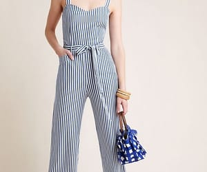 denim, fashionista, and jumpsuits image