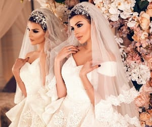 beauty, bridal, and bride image