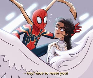 Avengers, fanart, and spider man image