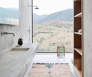 bathroom, home, and view image