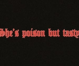 quotes, poison, and red image