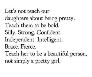 be yourself, daughter, and feelings image