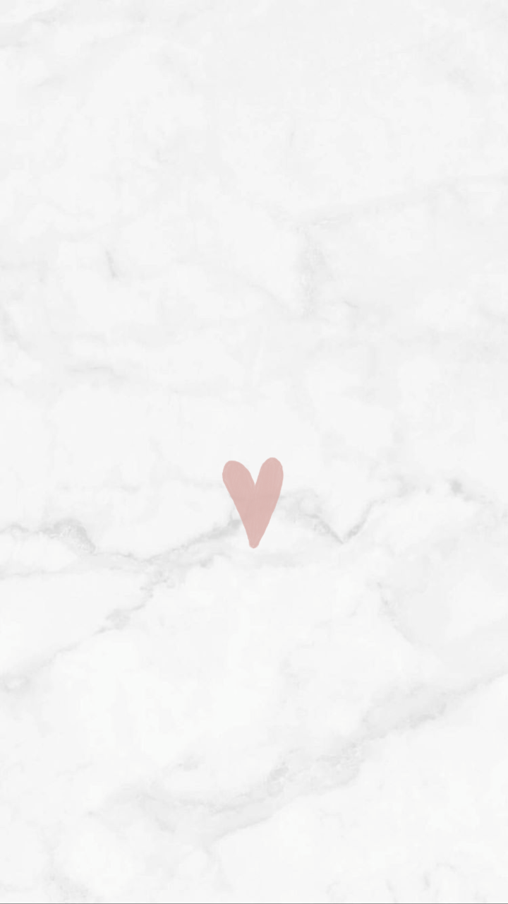 Marble Background With Heart