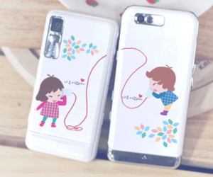 phone, boy, and couple image