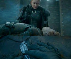 got, sansa stark, and winterfell image