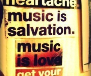 music, love, and heartache image