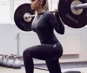 exercise, girl, and fitspo image