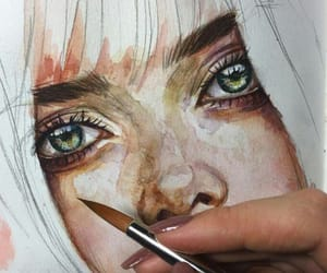 paint and realistic image
