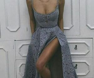 prom dress, fashion, and girl image
